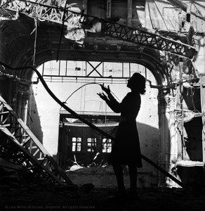 web Irmgard Seefried, Vienna Opera House, Vienna, Austria 1945 by Lee Miller (315-87)