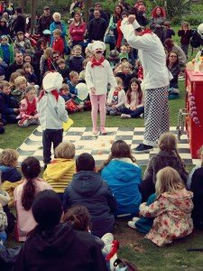 A children's performance at the Fringe City Family Picnic (c) Nick Henley copy