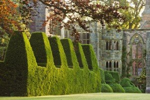 Nymans ruins and topiary - credit National Trust Images-2