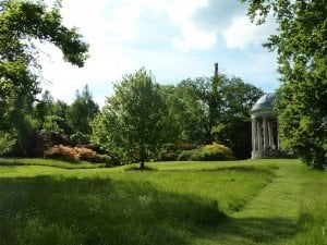 Petworth House and Park - Ionic Rotunda in the Pleasure Grounds