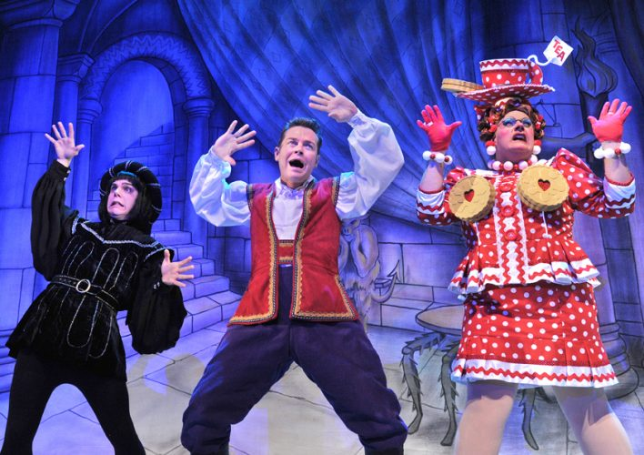 Sussex pantos, Crawley pantos, Snow White in Crawley, The Hawth, The Hawth Crawley, Sussex panto review