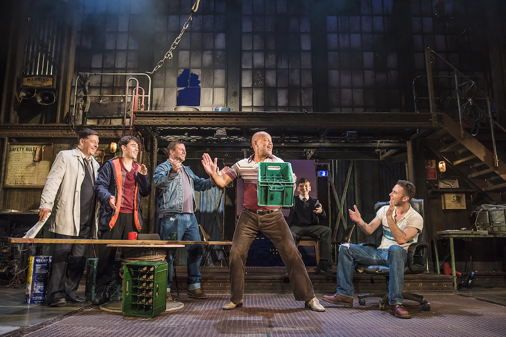 The Full Monty on stage