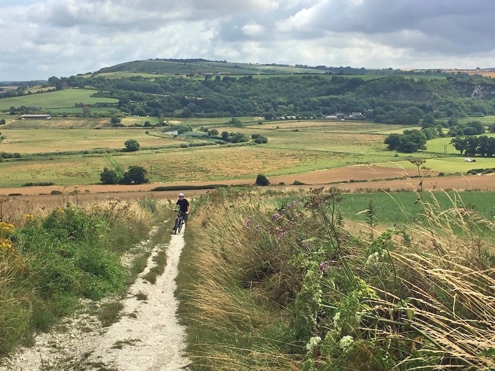 South Downs cycle hire, Chalkpit Trails